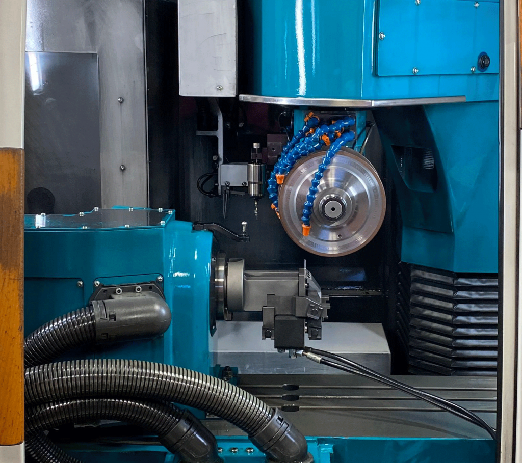 Insert Grinder in action at Total Tooling Technology.