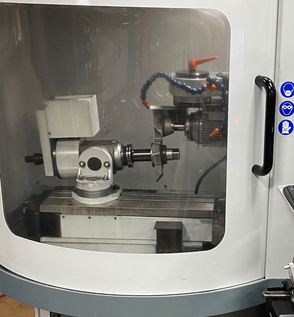 Custom Tooling in our CNC machine at Total Tooling Technology.