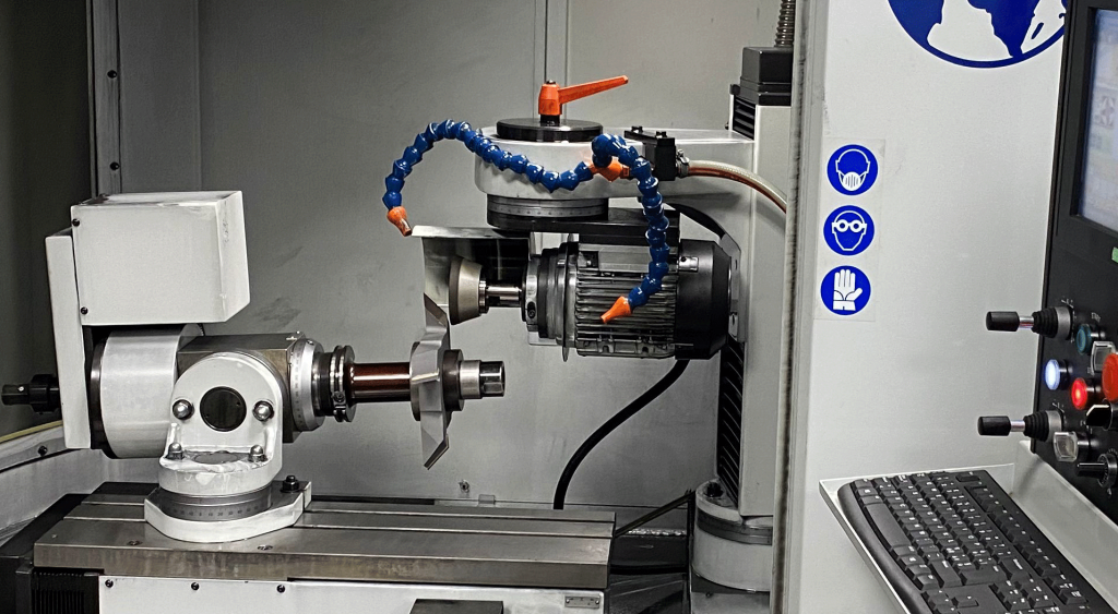 CNC Tool and Cutter Grinder in action at Total Tooling Technology.