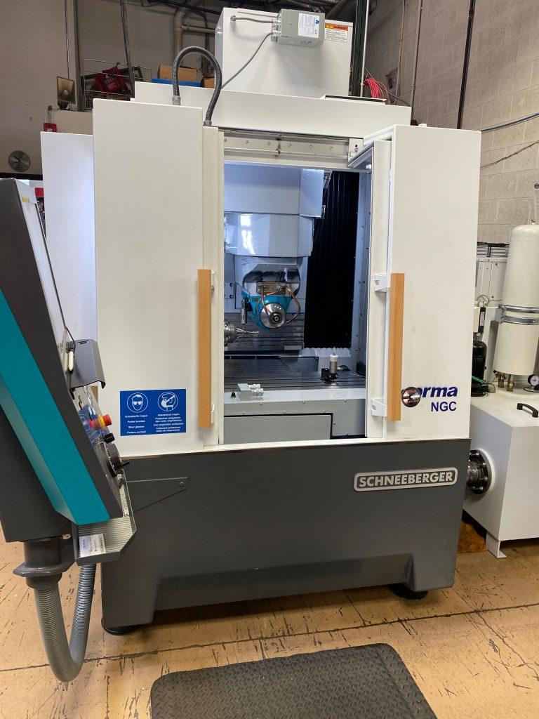 CNC Spiral Tool Grinder at Total Tooling Technology.