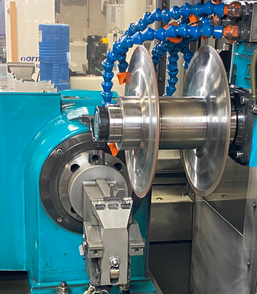 Custom tooling in action at Total Tooling Technology.