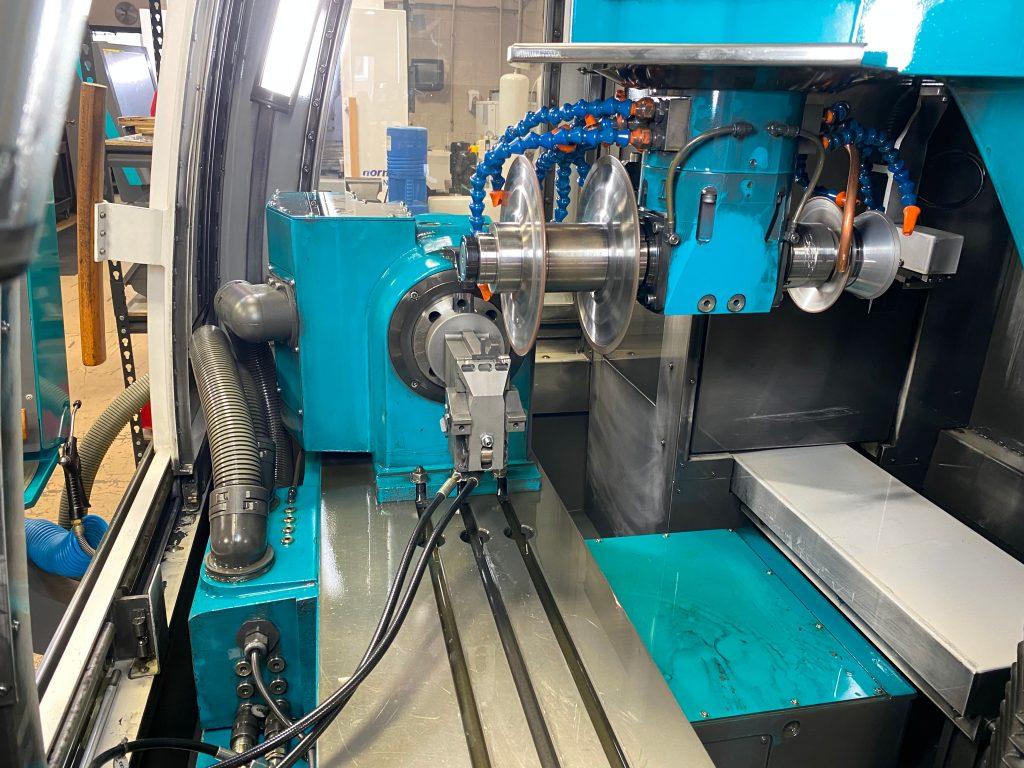 Custom Profile Insert via CNC at Total Tooling Technology.